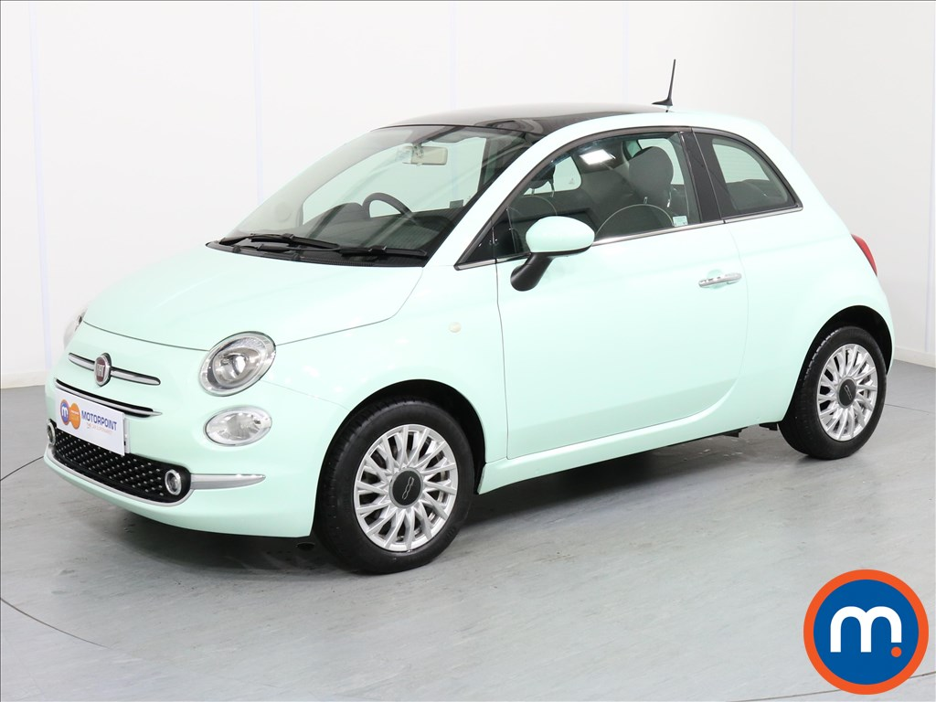Fiat 500 Lounge - Stock Number 1064322 Passenger side front corner