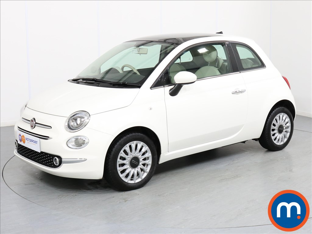 Fiat 500 Lounge - Stock Number 1064323 Passenger side front corner