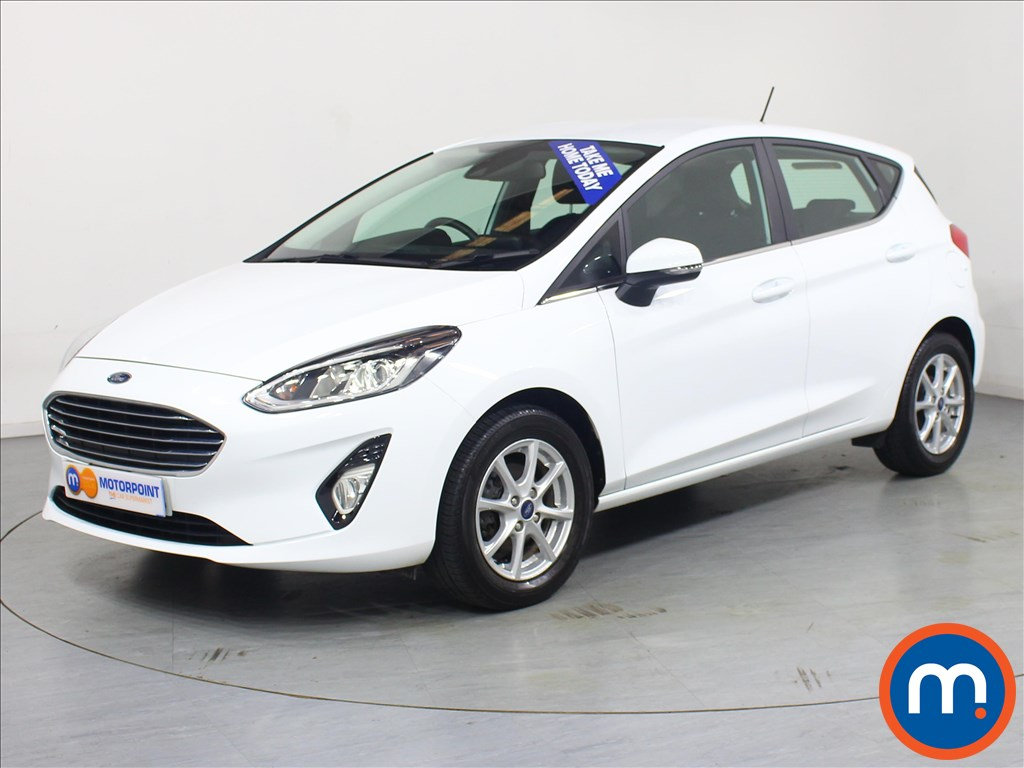 Ford Fiesta Zetec - Stock Number 1064785 Passenger side front corner