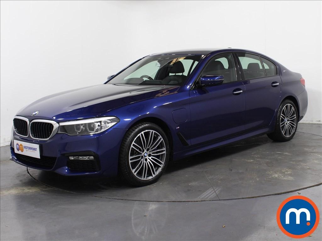 BMW 5 Series M Sport - Stock Number 1063928 Passenger side front corner