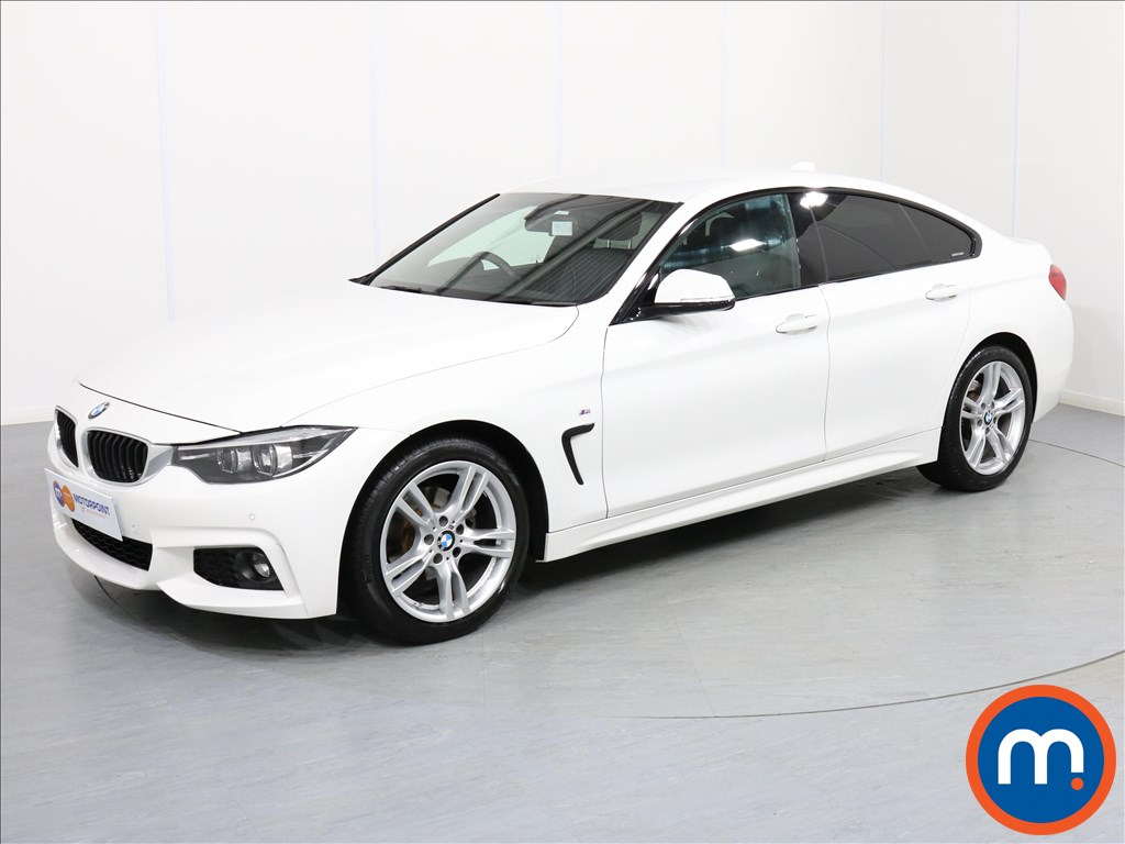 BMW 4 Series M Sport - Stock Number 1065781 Passenger side front corner
