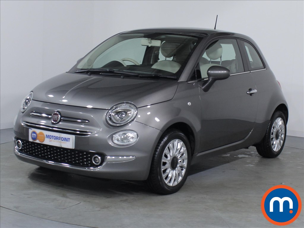 Fiat 500 Lounge - Stock Number 1063370 Passenger side front corner