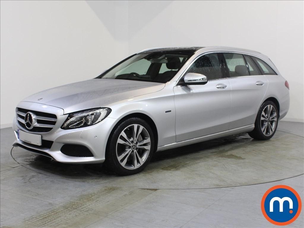 Mercedes-Benz C Class Sport - Stock Number 1054638 Passenger side front corner
