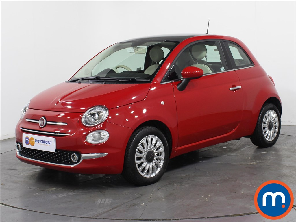 Fiat 500 Lounge - Stock Number 1064330 Passenger side front corner