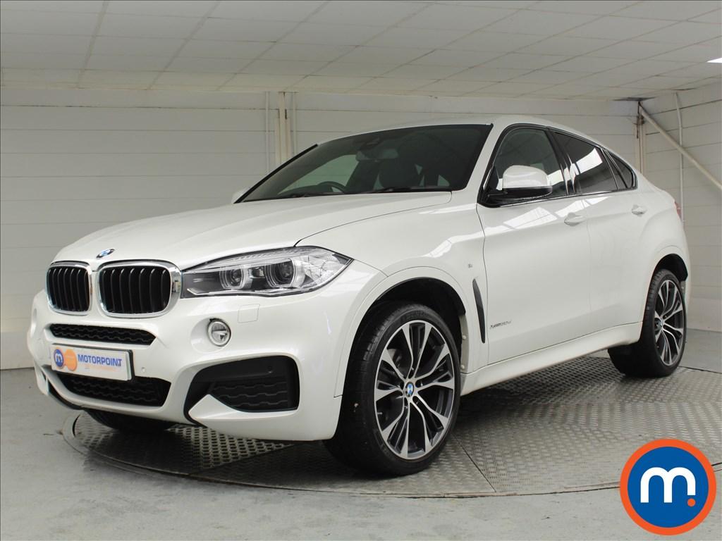 BMW X6 M Sport Edition - Stock Number 1058360 Passenger side front corner