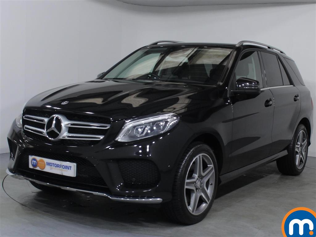 Mercedes-Benz GLE AMG Line - Stock Number 1063104 Passenger side front corner