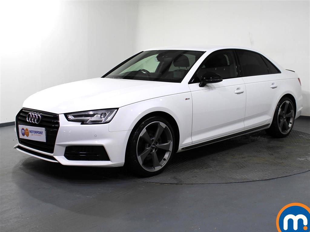 Audi A4 Black Edition - Stock Number 1065640 Passenger side front corner