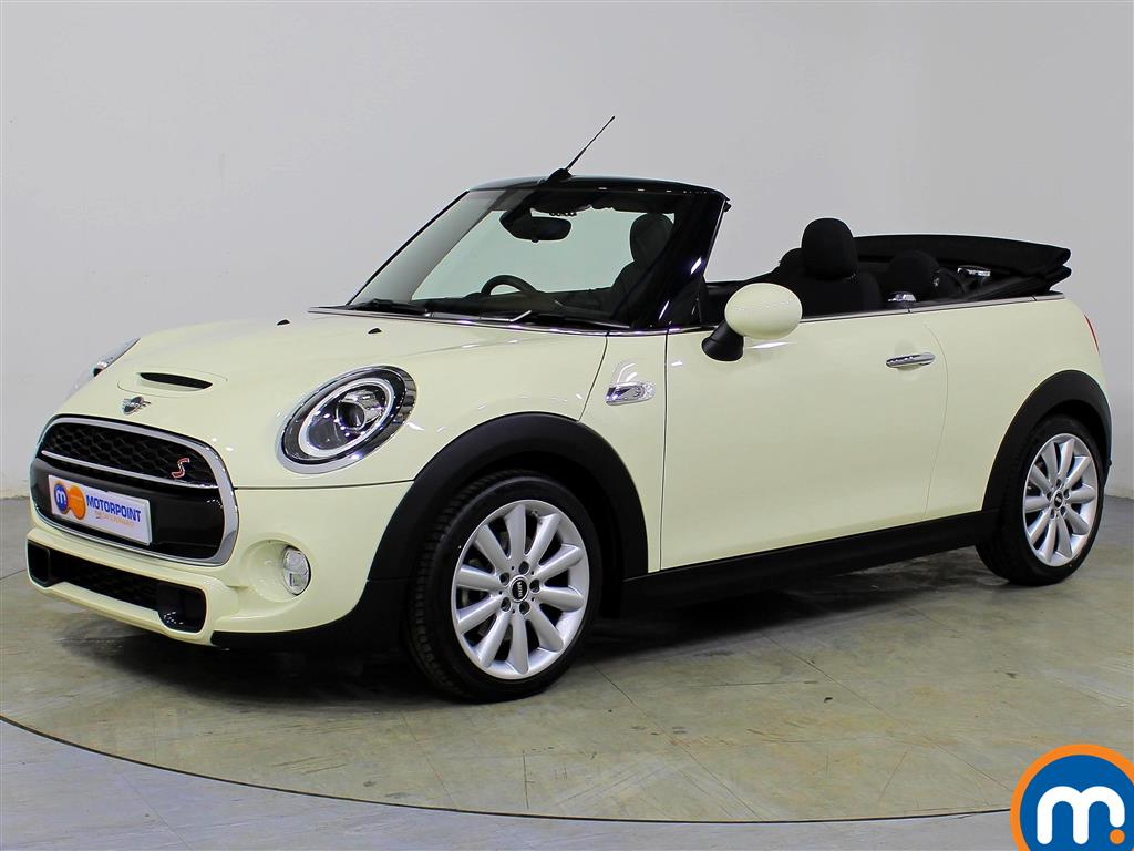 Mini Convertible Cooper S - Stock Number 1064267 Passenger side front corner