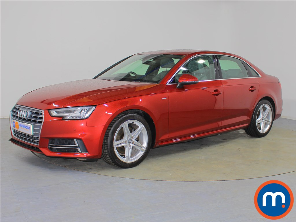 Audi A4 S Line - Stock Number 1065653 Passenger side front corner