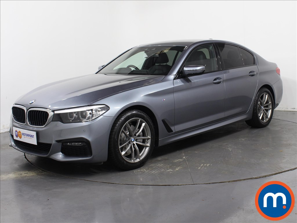BMW 5 Series M Sport - Stock Number 1062259 Passenger side front corner