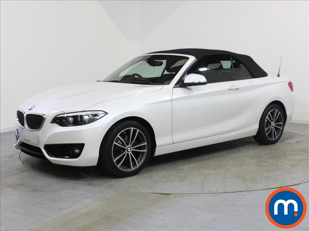 BMW 2 Series Sport - Stock Number 1067069 Passenger side front corner