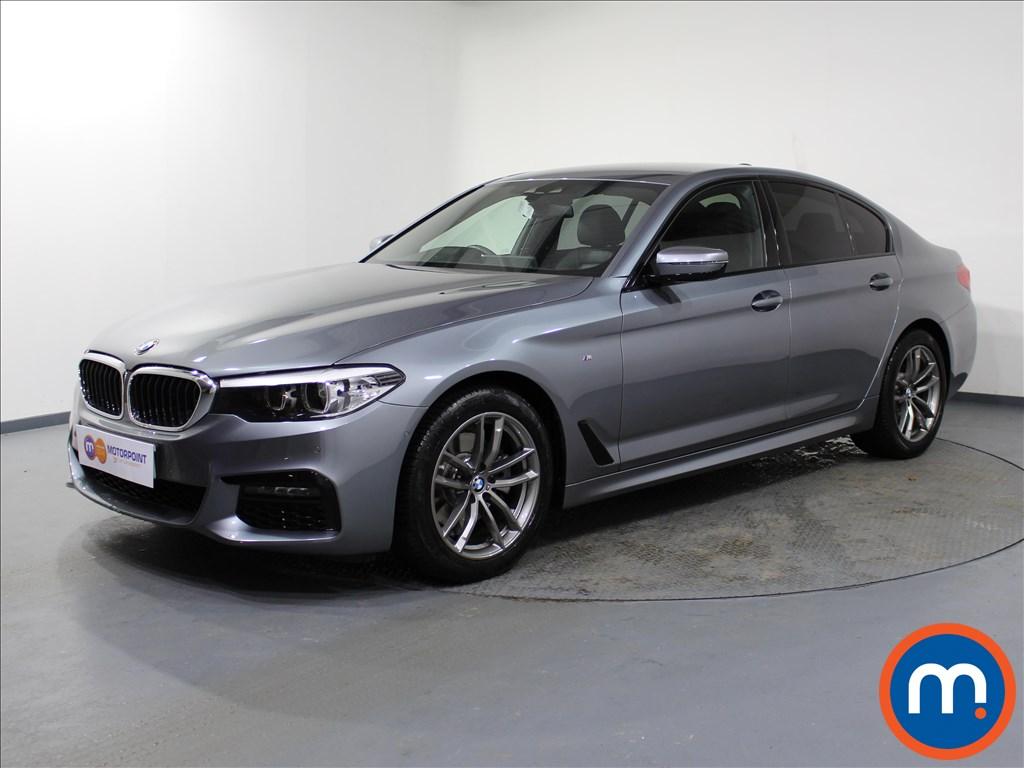 BMW 5 Series M Sport - Stock Number 1062825 Passenger side front corner