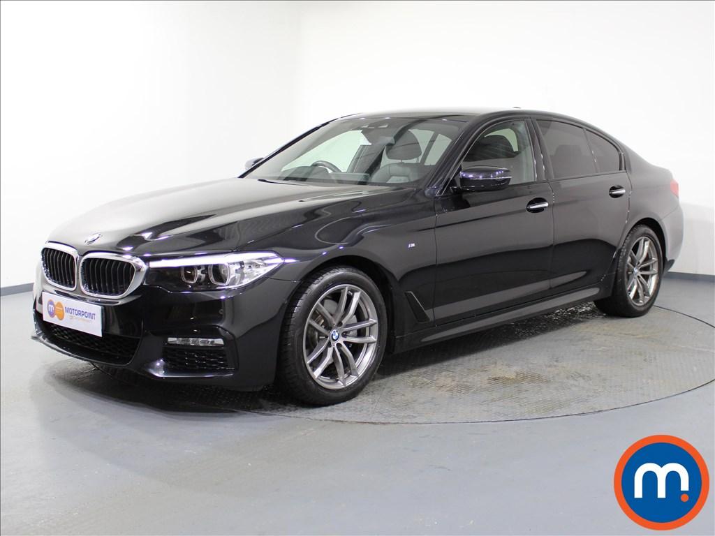 BMW 5 Series M Sport - Stock Number 1062827 Passenger side front corner