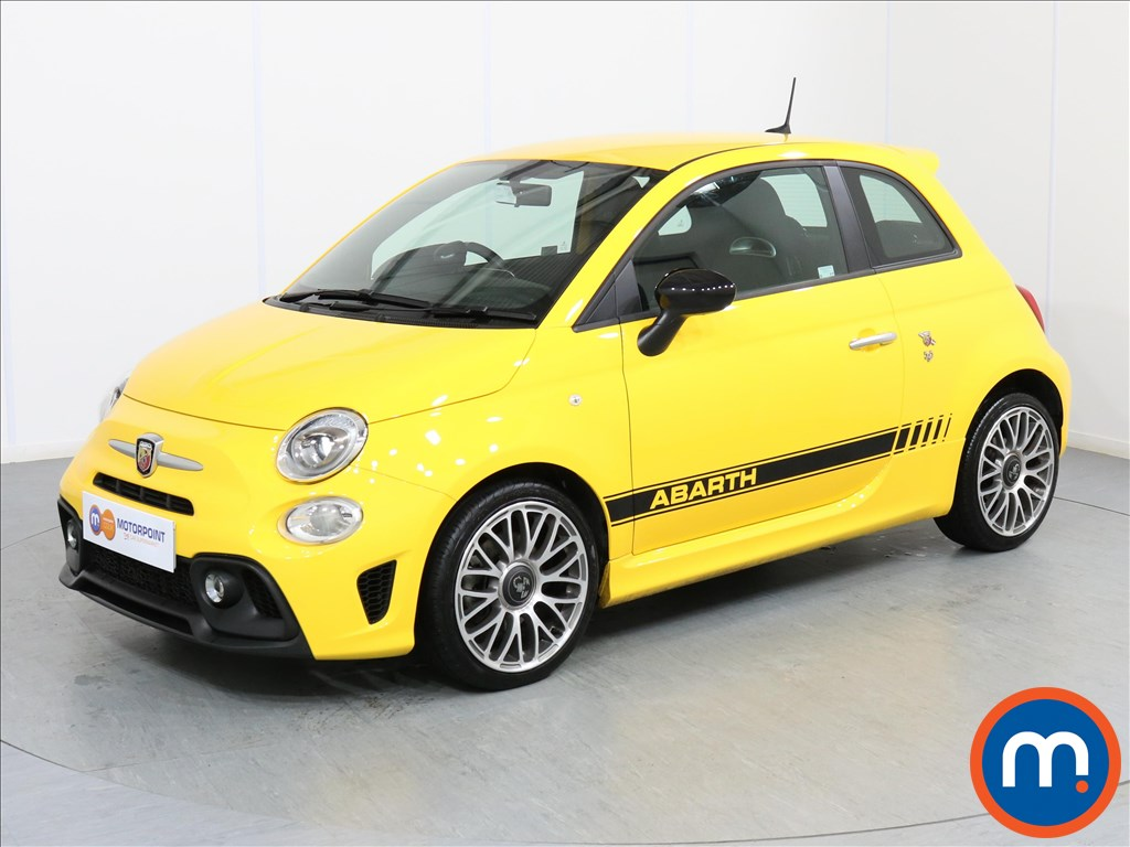 Abarth 595 1.4 T-Jet 145 3dr - Stock Number 1067228 Passenger side front corner