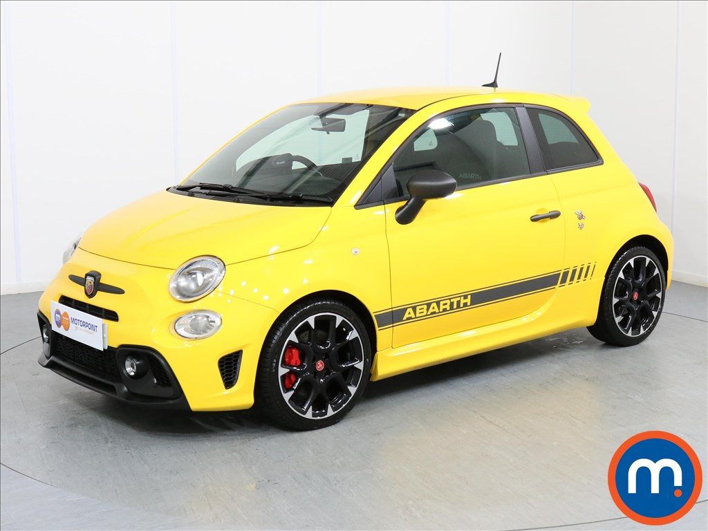 Abarth 595 Competizione - Stock Number 1062544 Passenger side front corner
