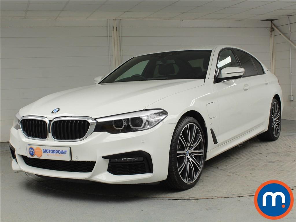 BMW 5 Series M Sport - Stock Number 1057684 Passenger side front corner