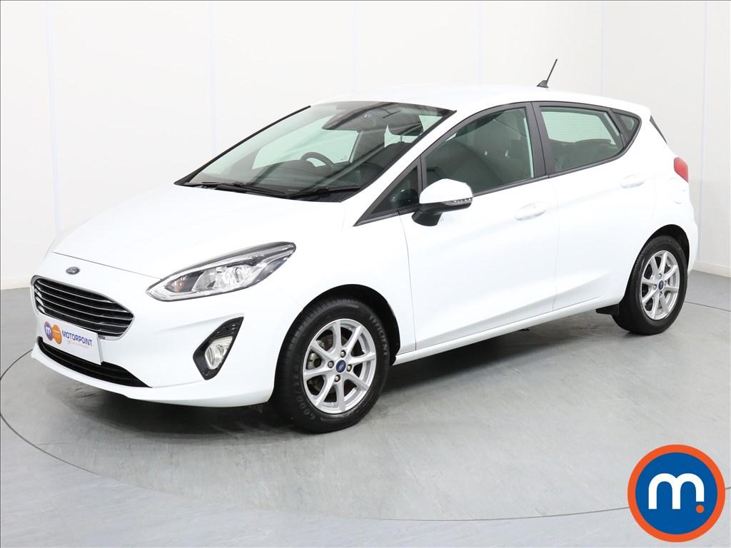 Ford Fiesta Zetec - Stock Number 1063532 Passenger side front corner