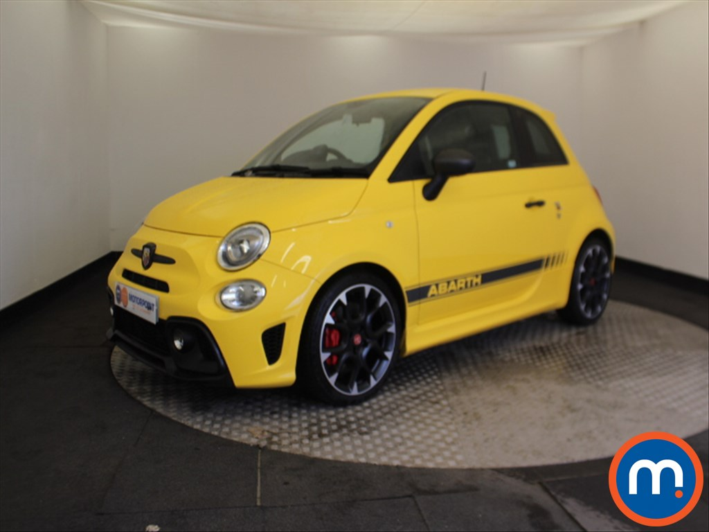 Abarth 595 Competizione - Stock Number 1062548 Passenger side front corner
