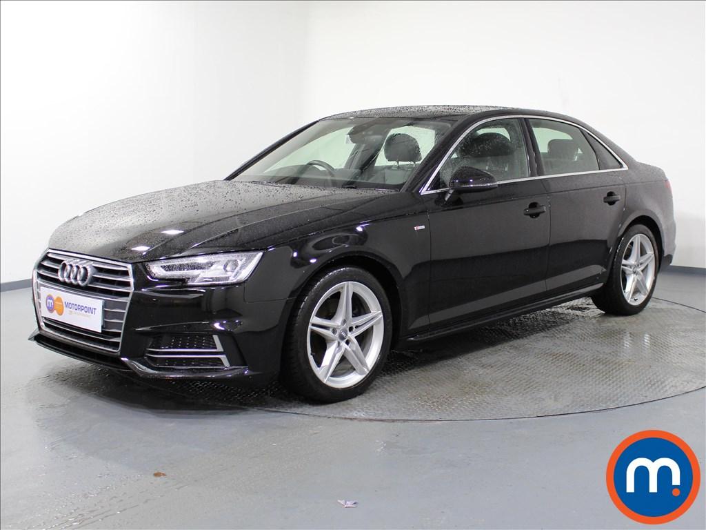 Audi A4 S Line - Stock Number 1065644 Passenger side front corner