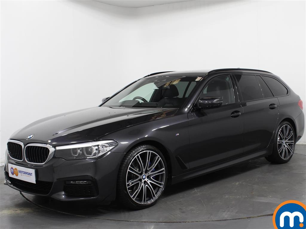 BMW 5 Series M Sport - Stock Number 1062160 Passenger side front corner