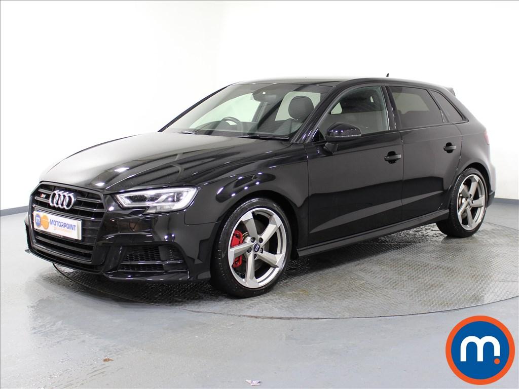 Audi A3 S3 Black Edition - Stock Number 1064802 Passenger side front corner