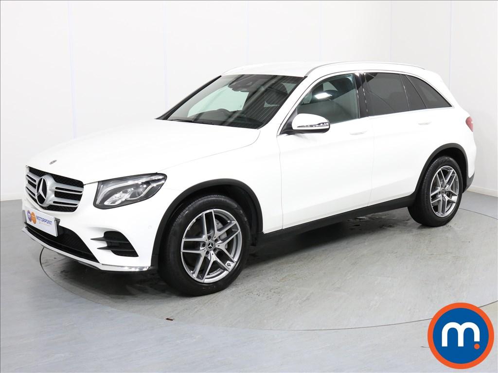 Mercedes-Benz GLC AMG Line - Stock Number 1065862 Passenger side front corner