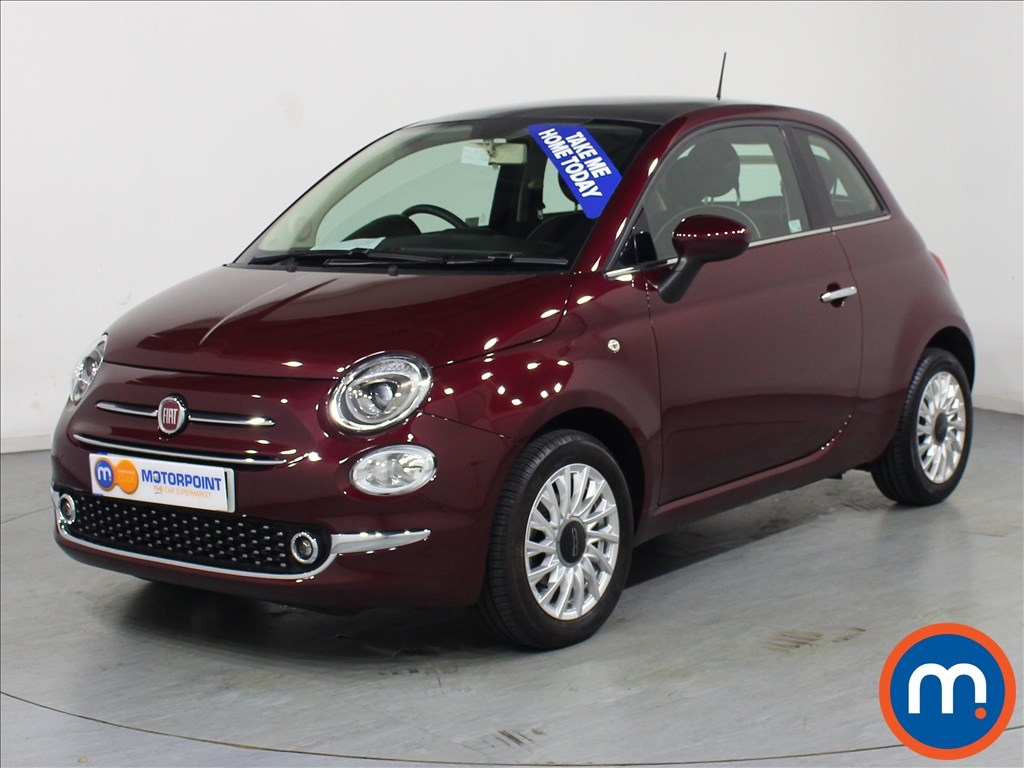 Fiat 500 Lounge - Stock Number 1066267 Passenger side front corner