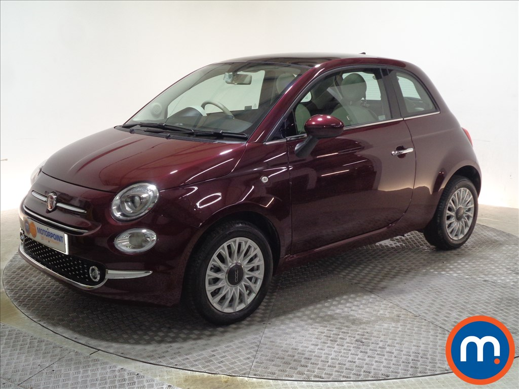 Fiat 500 Lounge - Stock Number 1065621 Passenger side front corner