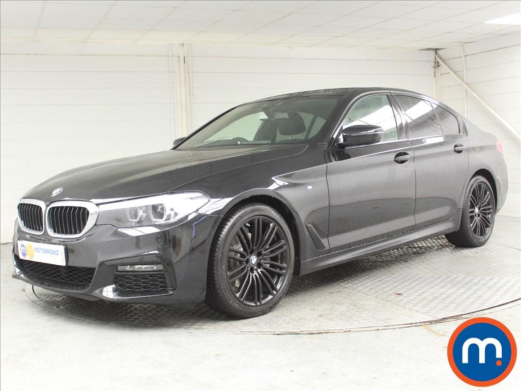 BMW 5 Series M Sport - Stock Number 1062274 Passenger side front corner