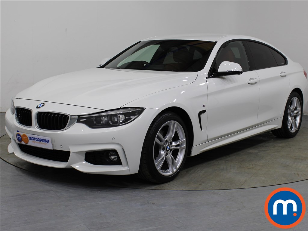 BMW 4 Series M Sport - Stock Number 1065774 Passenger side front corner