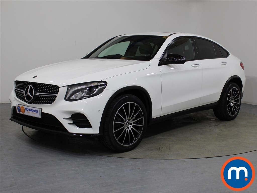 Mercedes-Benz Glc Coupe AMG Line - Stock Number 1061454 Passenger side front corner