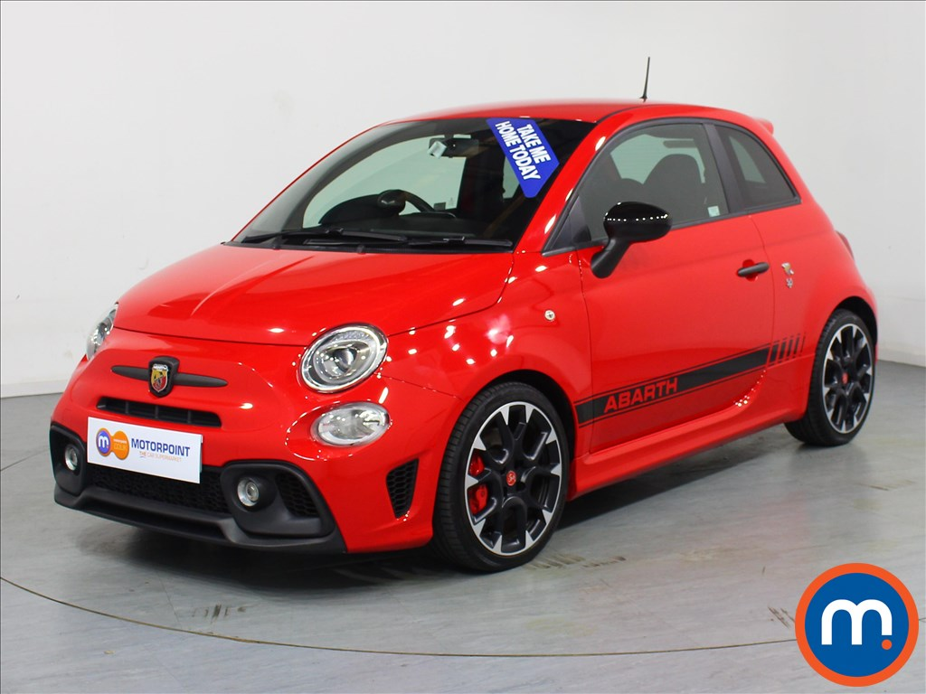 Abarth 595 Competizione - Stock Number 1062545 Passenger side front corner