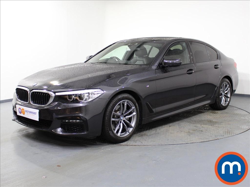 BMW 5 Series M Sport - Stock Number 1062068 Passenger side front corner