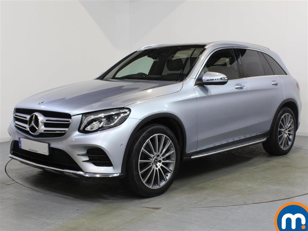 Mercedes-Benz GLC AMG Line - Stock Number 1066393 Passenger side front corner