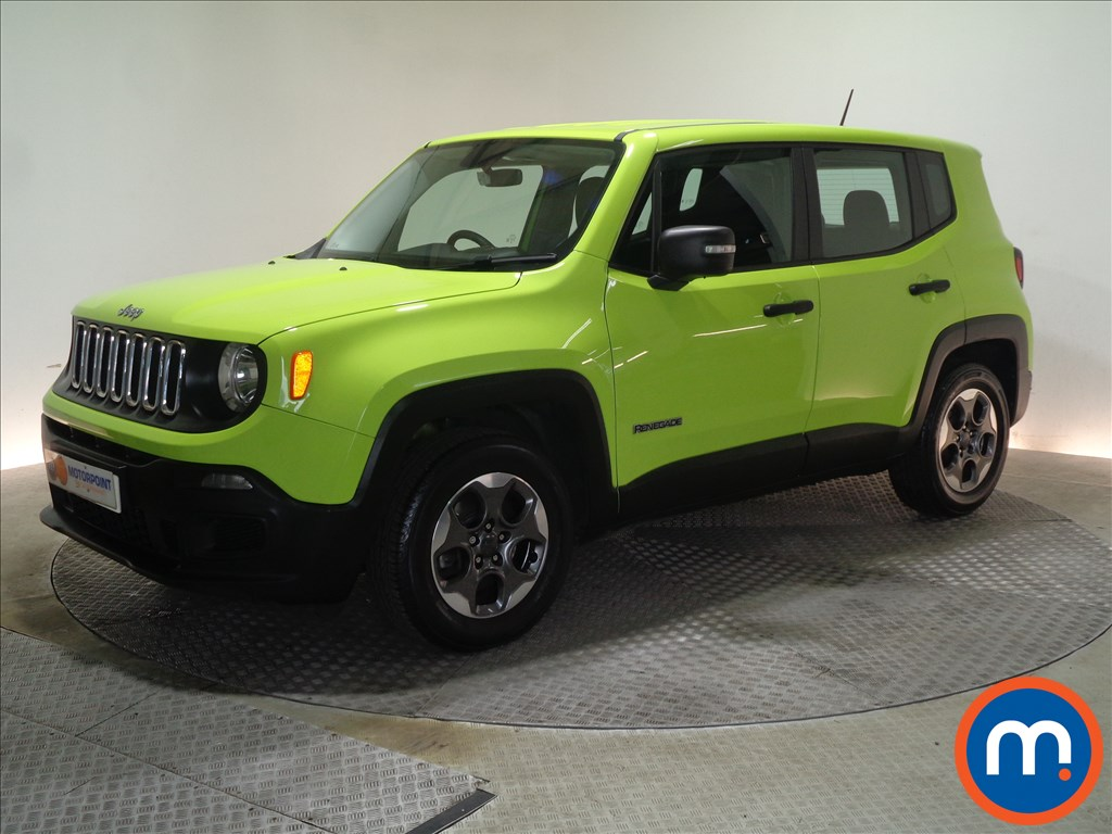 Jeep Renegade Sport - Stock Number 1066545 Passenger side front corner