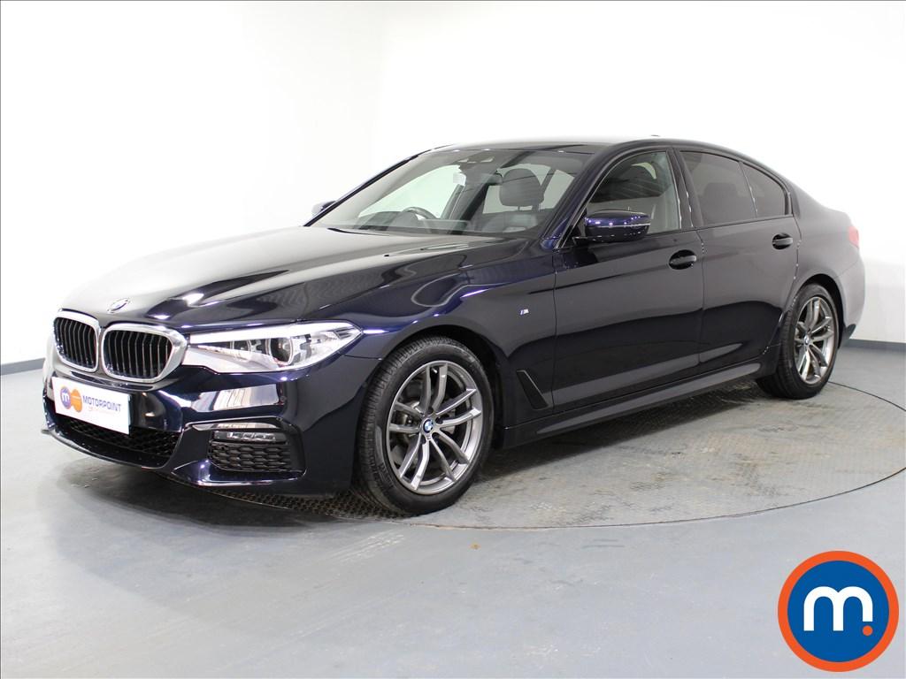 BMW 5 Series M Sport - Stock Number 1064076 Passenger side front corner