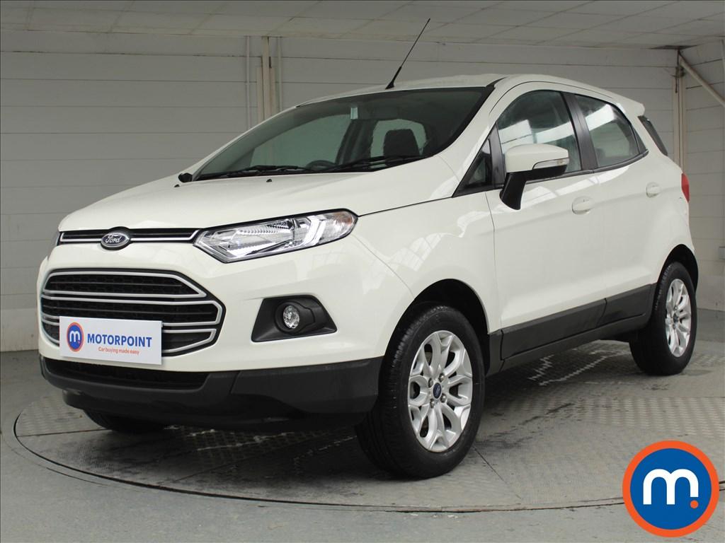 Ford Ecosport Zetec - Stock Number 1067264 Passenger side front corner