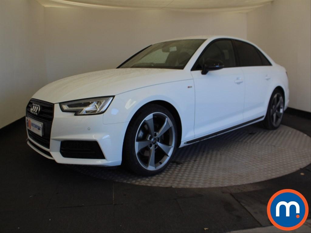 Audi A4 Black Edition - Stock Number 1067070 Passenger side front corner