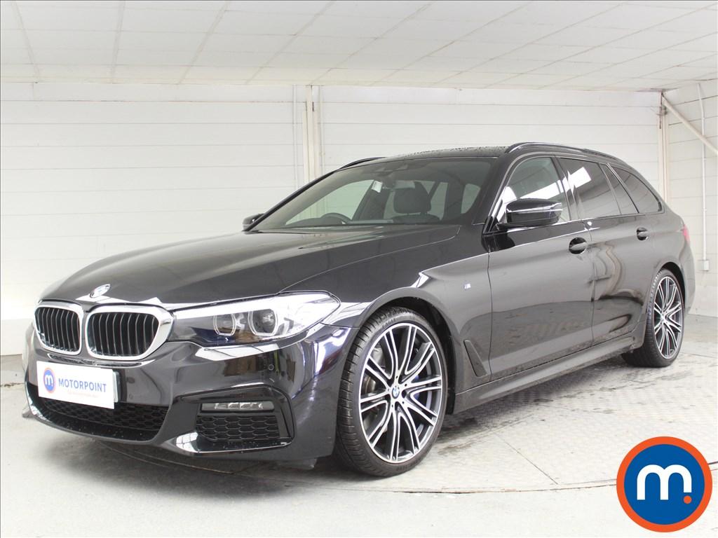 BMW 5 Series M Sport - Stock Number 1062162 Passenger side front corner