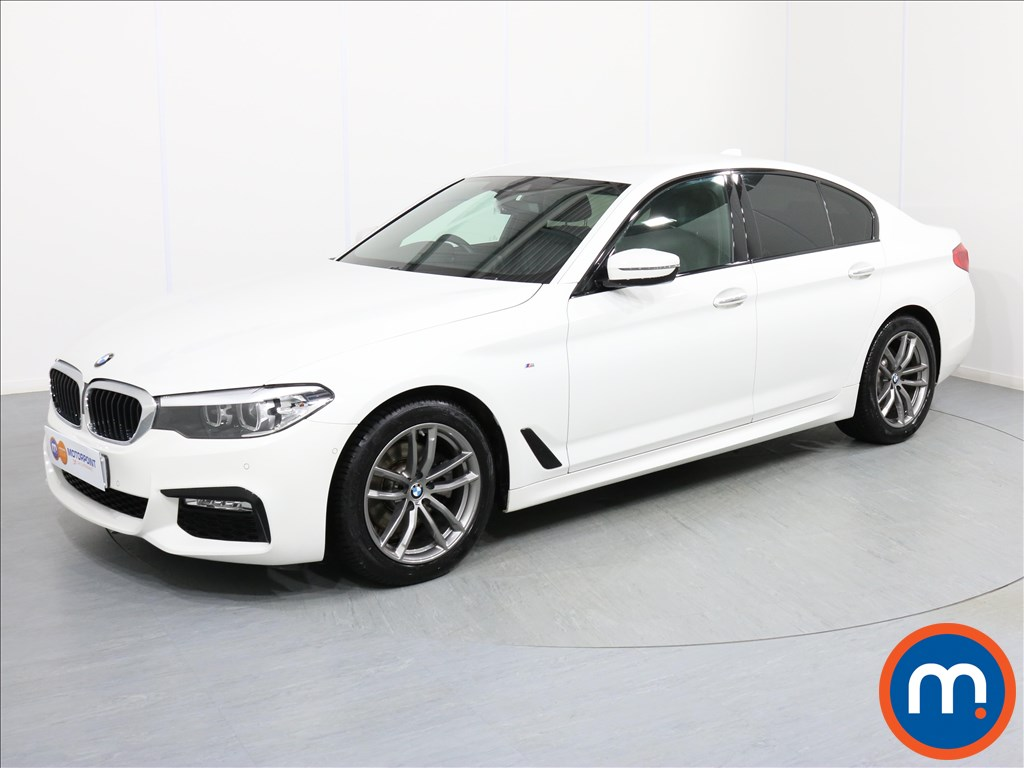 BMW 5 Series M Sport - Stock Number 1065823 Passenger side front corner