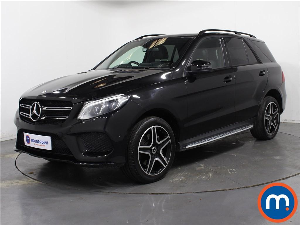 Mercedes-Benz GLE Night Edition - Stock Number 1066404 Passenger side front corner