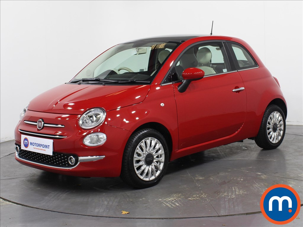 Fiat 500 Lounge - Stock Number 1065615 Passenger side front corner