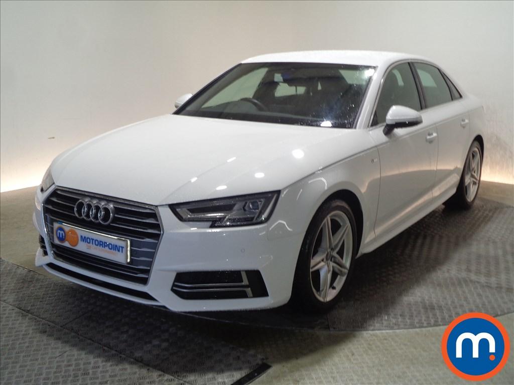 Audi A4 S Line - Stock Number 1062473 Passenger side front corner