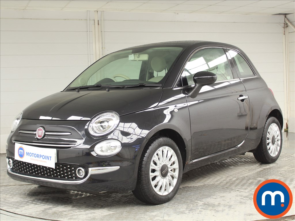 Fiat 500 Lounge - Stock Number 1065632 Passenger side front corner