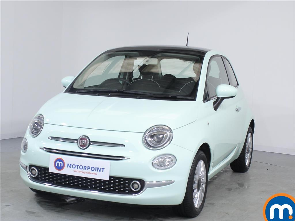 Fiat 500 Lounge - Stock Number 1065609 Passenger side front corner