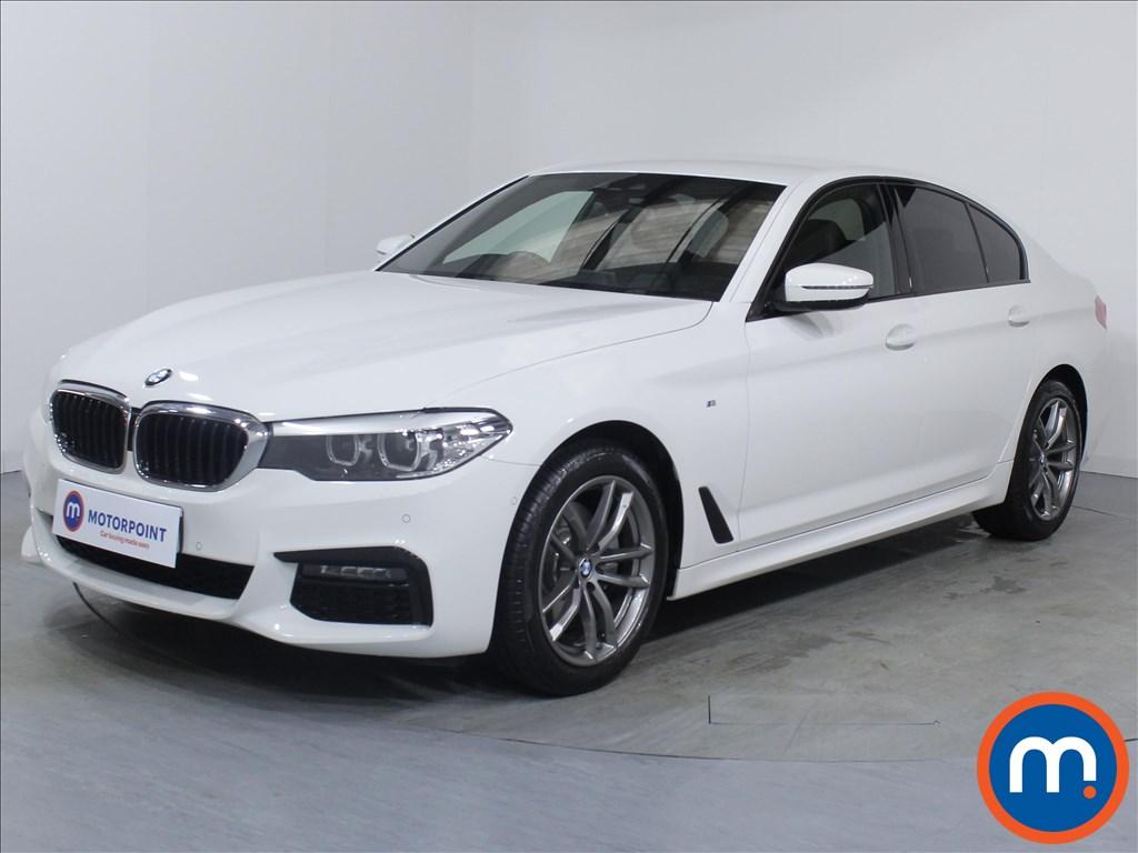 BMW 5 Series M Sport - Stock Number 1065363 Passenger side front corner
