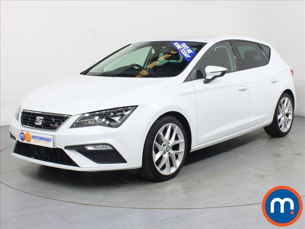 Seat Leon FR Technology - Stock Number 1058083 Passenger side front corner