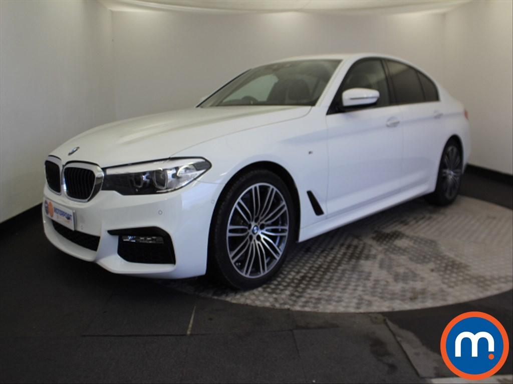BMW 5 Series M Sport - Stock Number 1067644 Passenger side front corner