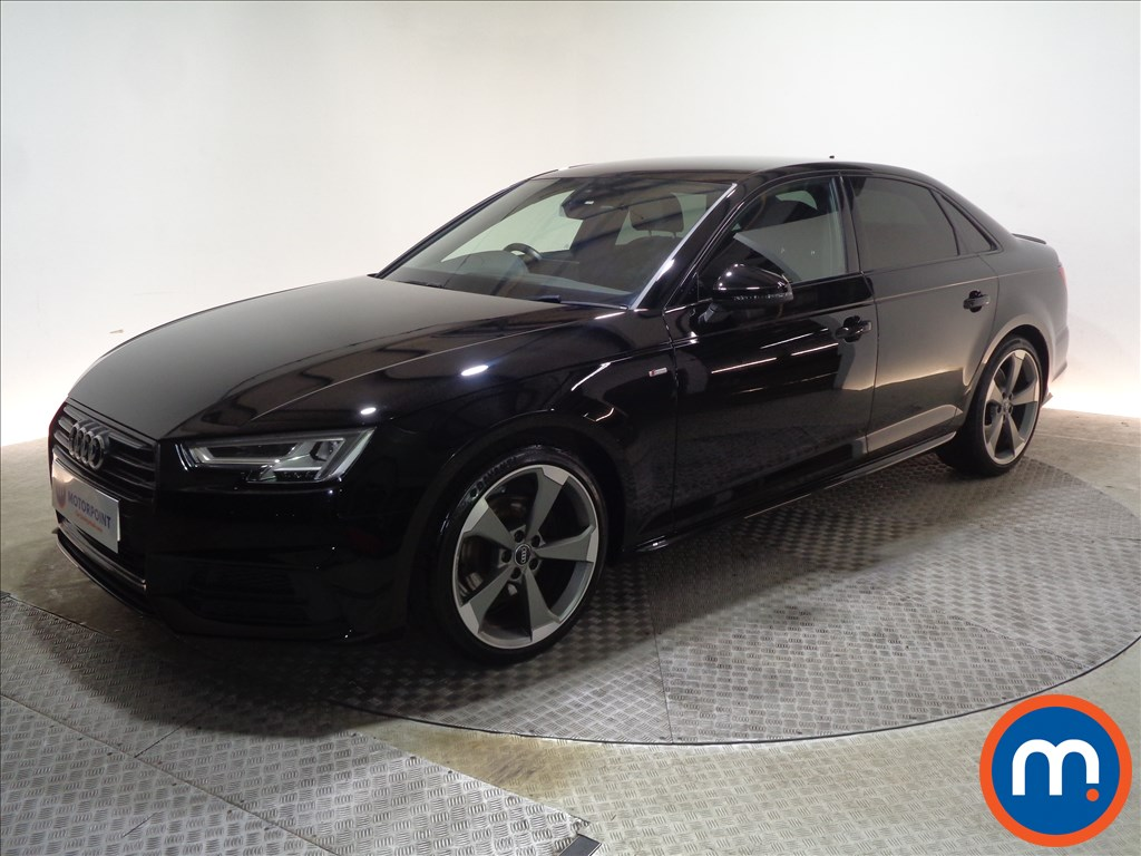 Audi A4 Black Edition - Stock Number 1065634 Passenger side front corner