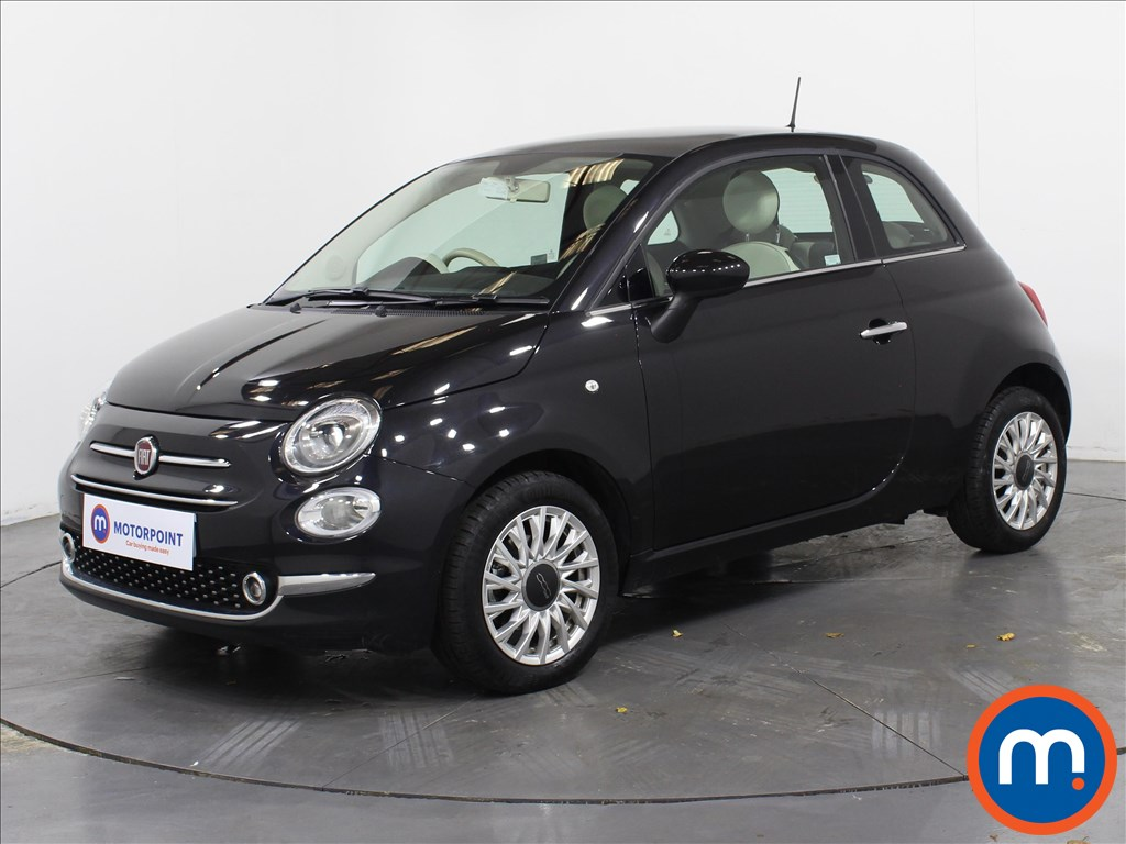 Fiat 500 Lounge - Stock Number 1065625 Passenger side front corner